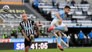 Gol gila Ferran Torres ke gawang Newcastle United.