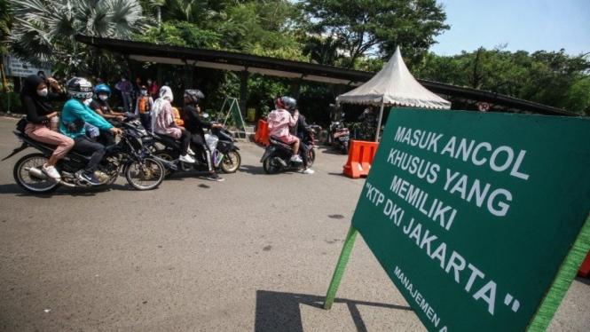 Tempat wisata Ancol ditutup untuk didisinfektan