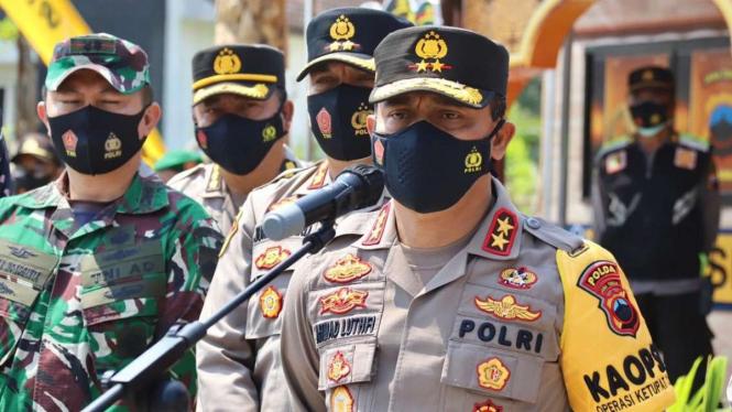 Kapolda Jawa Tengah Irjen Pol Achmad Luthfi.