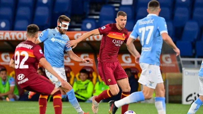 Duel AS Roma vs Lazio.
