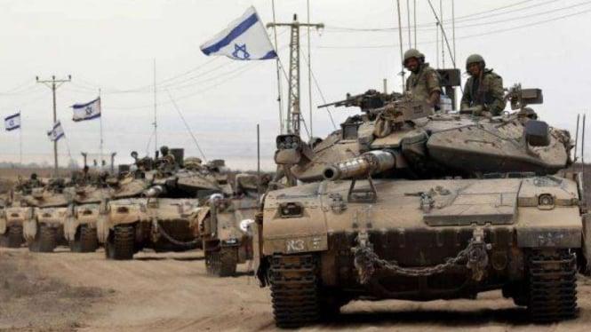 VIVA Militer: Tank Merkava Pasukan Pertahanan Israel (IDF)