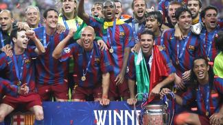 Barcelona juara Liga Champions 2006