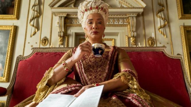 Ratu Charlotte di serial Bridgerton.