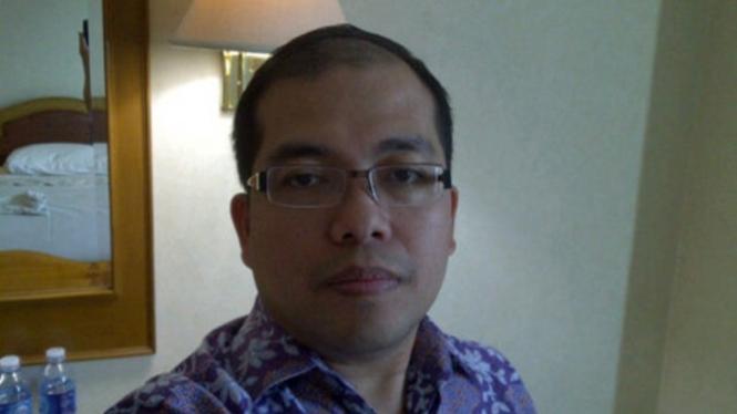 Direktur Utama Kimia Farma Diagnostika, Adil Fadilah Bulqini.