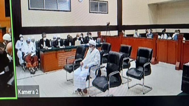 Sidang tuntutan Habib Rizieq kasus kerumunan Megamendung