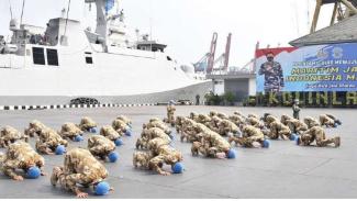 VIVA Militer: Pasukan perdamaian TNI Satgas MTF UNIFIL Lebanon tiba di Indonesia