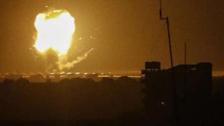 VIVA Militer: Serangan roket Hamas ke basis militer Israel