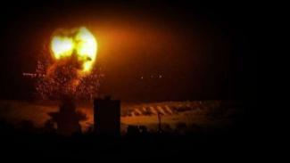 VIVA Militer: Rudal Israel menghantam Gaza.