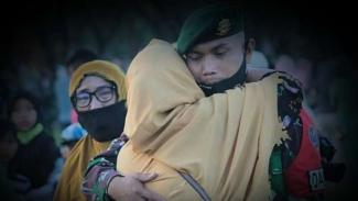 VIVA Militer: Komadan Satgas Pamrahwan Yonif PR 432/WSJ, Mayor Inf Agus Priyo.
