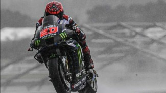 Pembalap Monster Energy Yamaha, Fabio Quartararo.