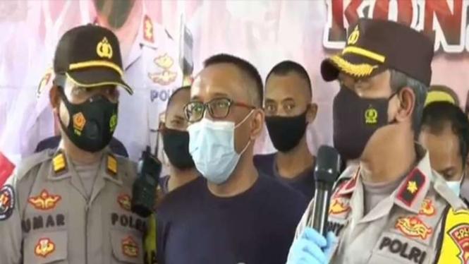 Polisi gadungan ditangkap