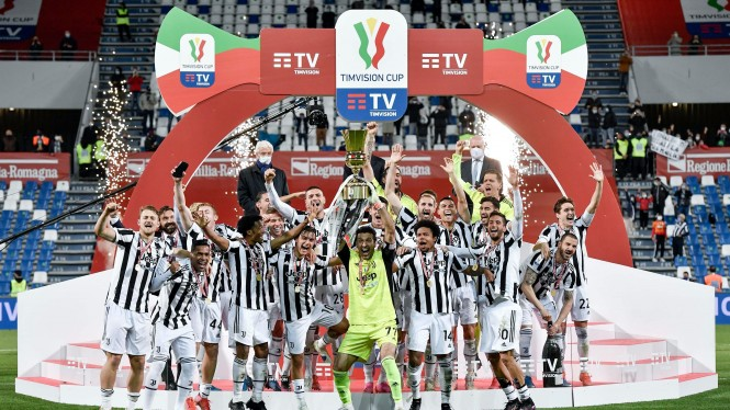 Juventus juara Coppa Italia usai kalahkan Atalanta