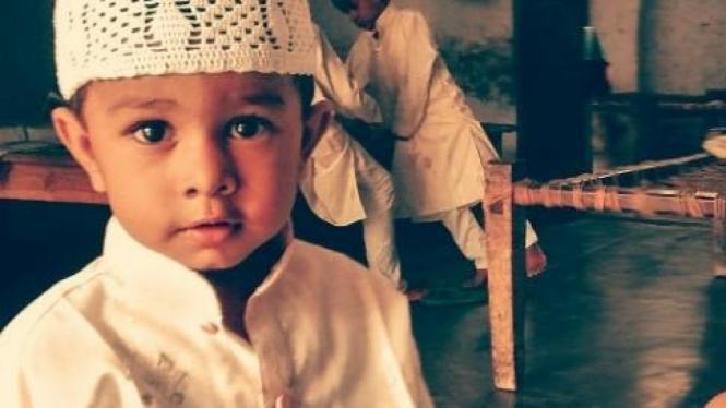Anak muslim.