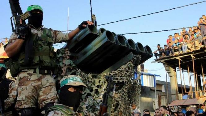 VIVA Militer: Pasukan Hamas Palestina