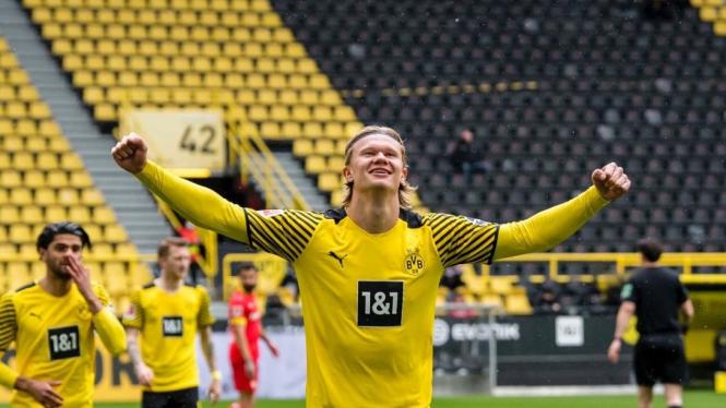 Bomber Borussia Dortmund, Erling Braut Haaland