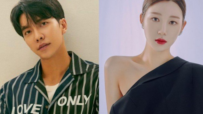 Lee Seung Gi dan Lee Da In.