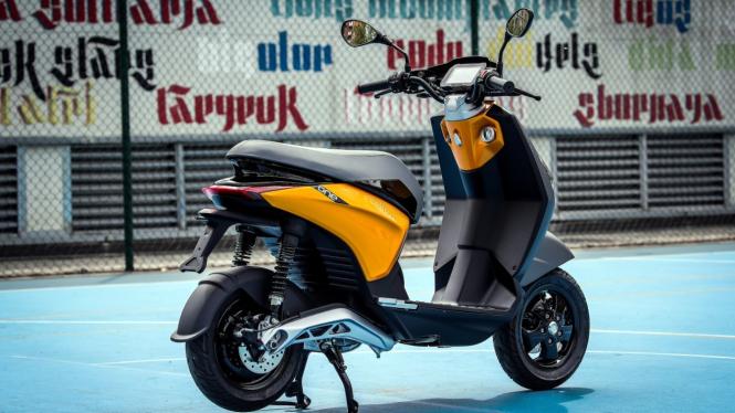 Motor listrik Piaggio One