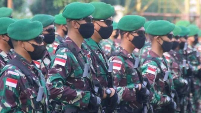 VIVA Militer: Satgas Pamrahwan Yonif 315/Garuda