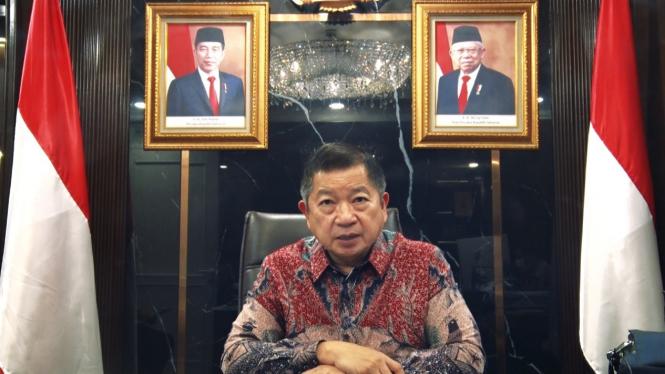 Menteri Perencanaan Pembangunan Nasional/Kepala Bappenas Suharso Monoarfa.