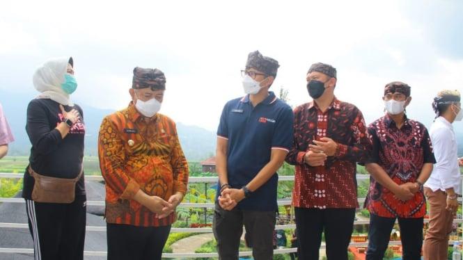 Sandiaga Uno persiapkan Anugerah Desa Wisata Indonesia 2021
