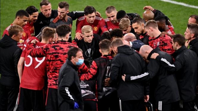 Skuad Manchester United di final Liga Europa 2020/2021.