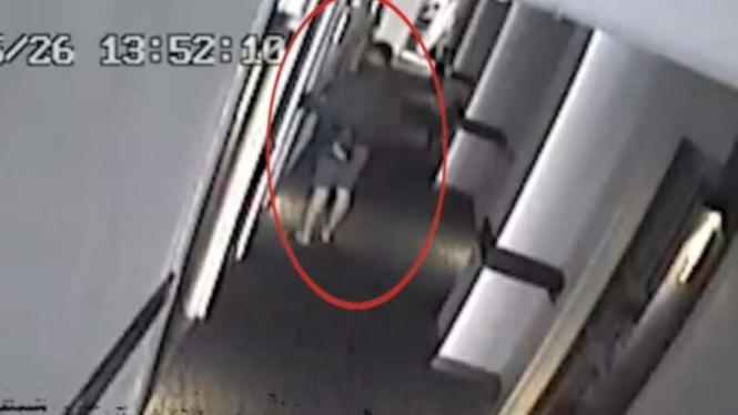 Terduga pembunuh wanita di kamar hotel kawasan Menteng, Jakarta Pusat.