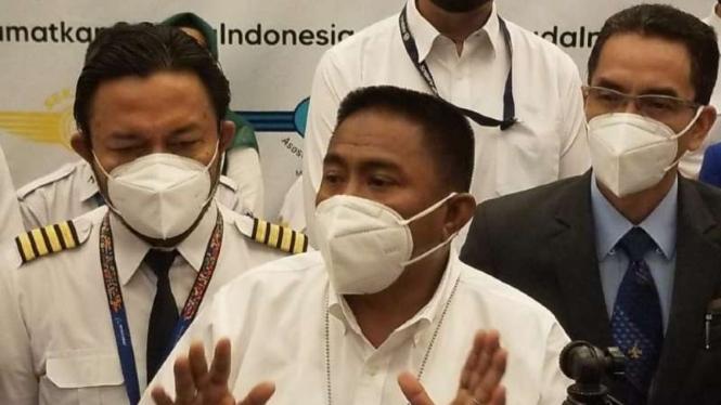 Serikat pekerja Garuda Indonesia.