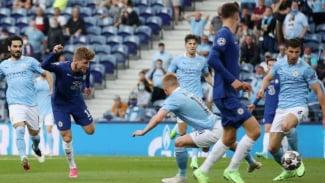 Duel Manchester City vs Chelsea di final Liga Champions.