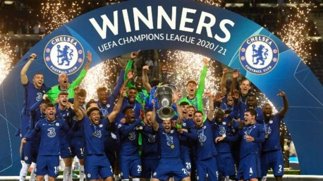 Chelsea juara Liga Champions 2020/21.