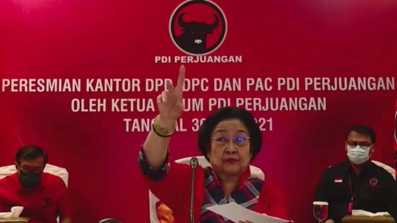 Ketua Umum PDI Perjuangan, Megawati Soekarnoputri.