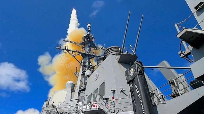 VIVA Militer: Sistem pertahanan anti-rudal balistik Aegis buatan Amerika
