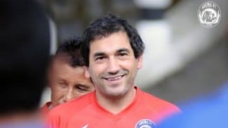 Pelatih Arema FC, Eduardo Almeida.