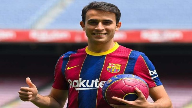 Rekrutan baru Barcelona, Eric Garcia