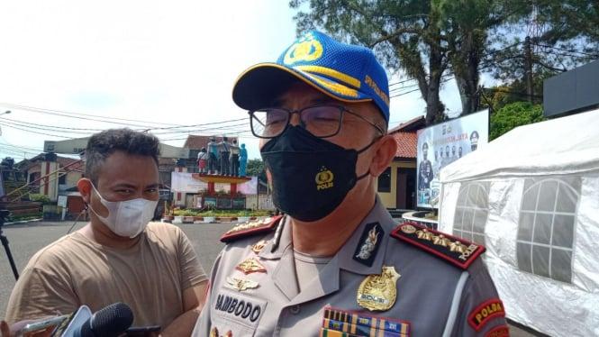 Direktur Lalu Lintas Polda Metro Jaya Kombes Pol Sambodo Purnomo Yogo.