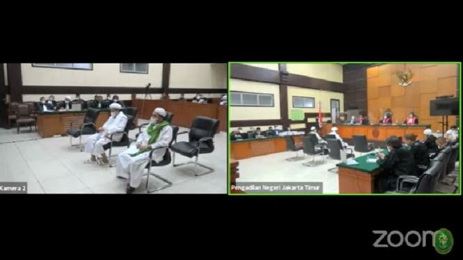 Sidang Habib Rizieq kasus Swab Test RS Ummi