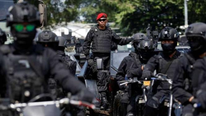 VIVA Militer: Anggota Sat-81 Gultor Kopassus TNI Angkatan Darat