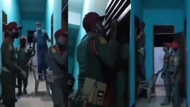 Viral petugas intip kamar orang (Instagram/lambe_turah)