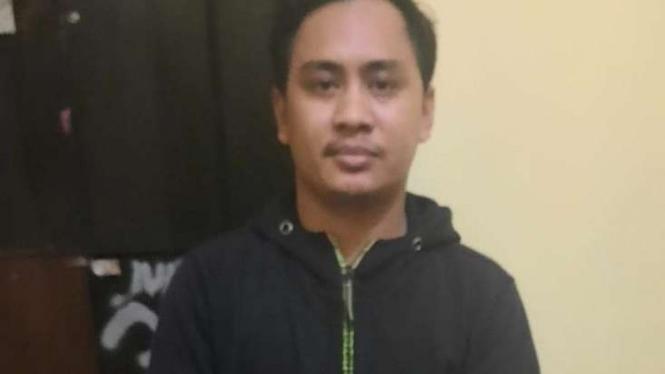 Seorang pria bernama Hariyanto bin Khusnul (31 tahun) tersangka tawuran.