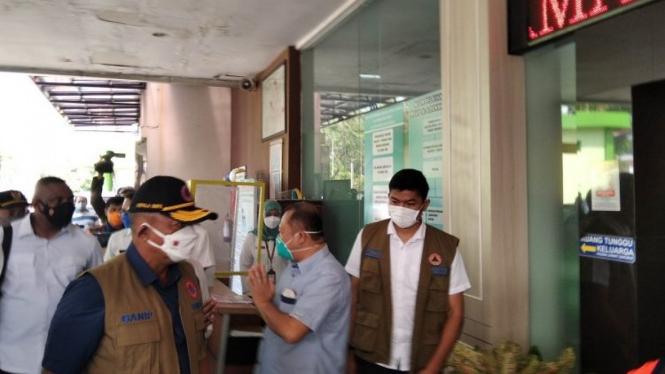 Ketua Satgas Penanganan COVID-19 Letjen TNI Ganip Warsito