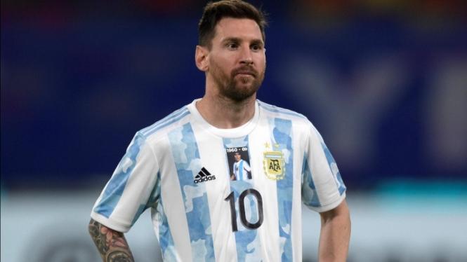 Bintang Timnas Argentina, Lionel Messi