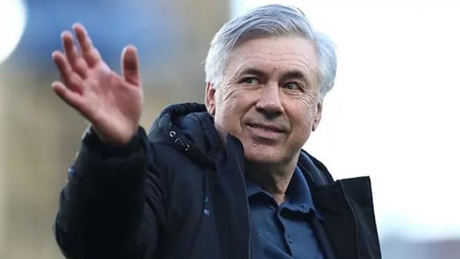 Juru taktik Real Madrid, Carlo Ancelotti.