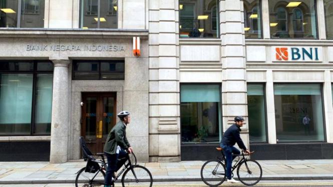 Kantor BNI di London, Inggris