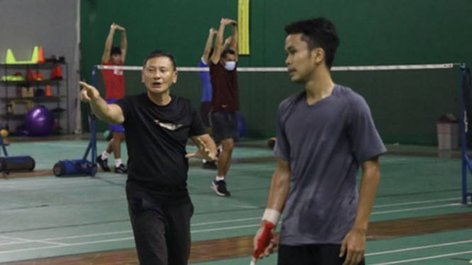 Persiapan tunggal putra Indonesia jelang Olimpiade Tokyo.
