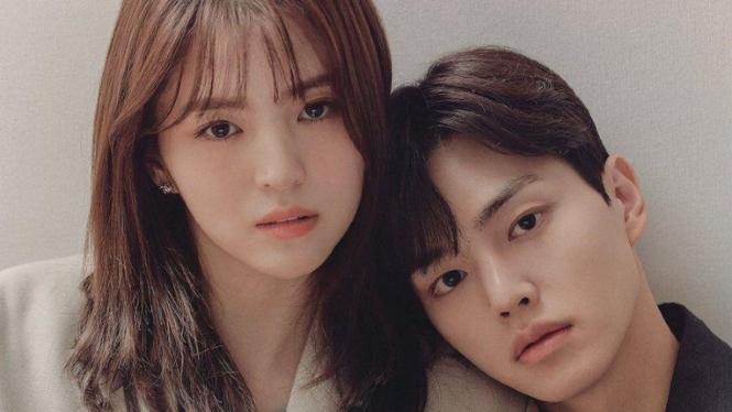 Han So Hee dan Song Kang di drama Korea Nevertheless.