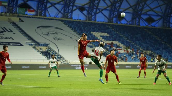 Timnas Indonesia vs Timnas Vietnam di Kualifikasi Piala Dunia 2022