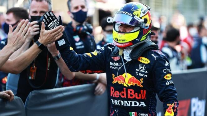 Pembalap Red Bull Racing, Sergio Perez