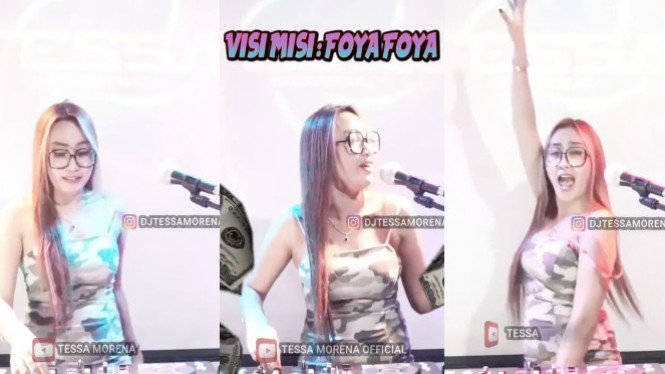 Viral DJ Tessa Morena (TikTok/djtessamorena_real)