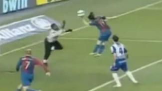 Gol Tangan Tuhan Lionel Messi.