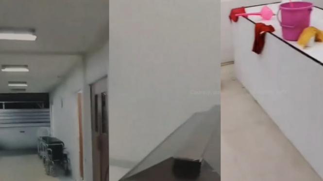 Beredar video kamar jenazah (Instagram/tkp_pontianak)