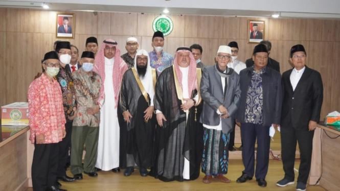 Dubes Arab Saudi temui pengurus MUI bahas Haji 2021.